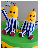 Bananas in Pyjamas kids birthday cake Sydney