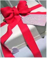 Tiffany Gift Box Birthday Cake
