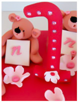 Teddy Bears Birthday cake