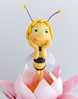 Maya the Bee girls Birthday Cake