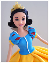 Snow White Princess Birthday Cake for girls