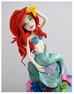 Ariel Mermaid best birthday cake