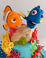 Finding Dory Birthday Cake