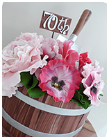 Flower Pot Gardening Birthday Cake