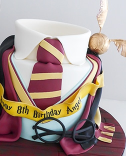 Harry Potter Uniform Cake