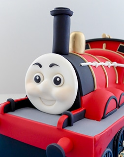 James train cake from Thomas and friends