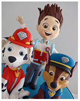 Paw Patrol kids birthday cake