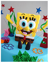 SpongeBob Square Pants Birthday Cake