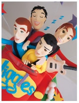 The Wiggles Big Red Car Birthday Cake