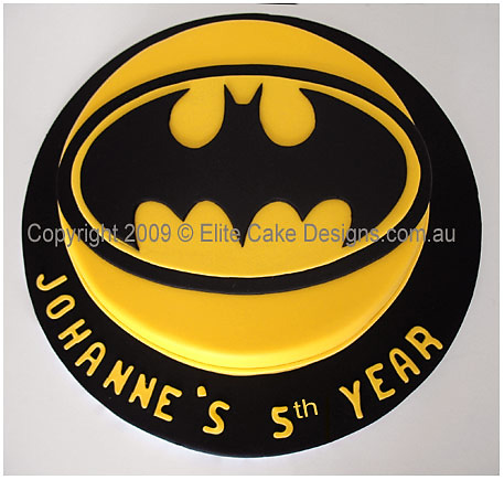BATMAN BIRTHDAY CAKES BY