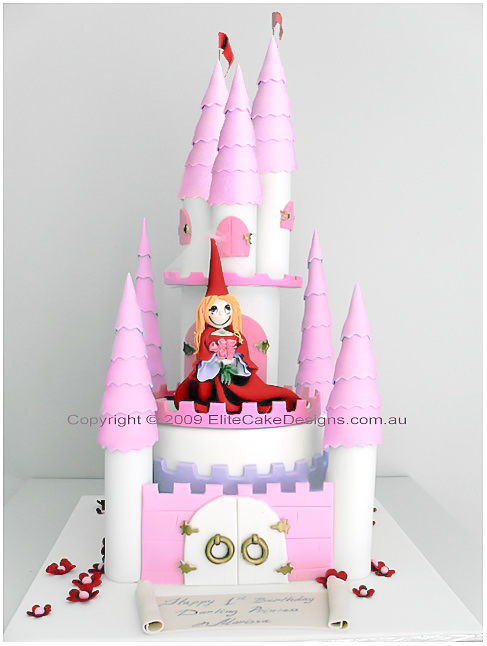 Castle Birthday Cake Princess Castle Birthday Cake Children