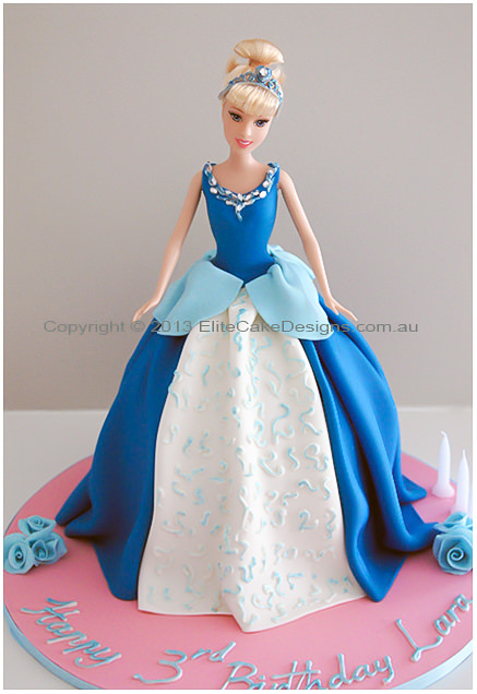 Incredible Cinderella Birthday Cake Walt Disney Children Birthday Cakes 1St Funny Birthday Cards Online Overcheapnameinfo