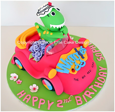 Kids Birthday Cakes Designs