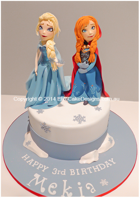 Frozen Birthday cake for girls