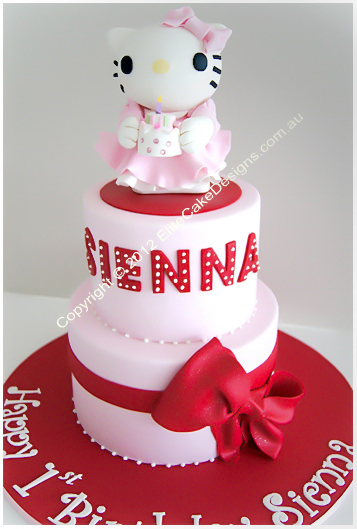 Hello Kitty Birthday Cake Birthday Cakes For Girls Children