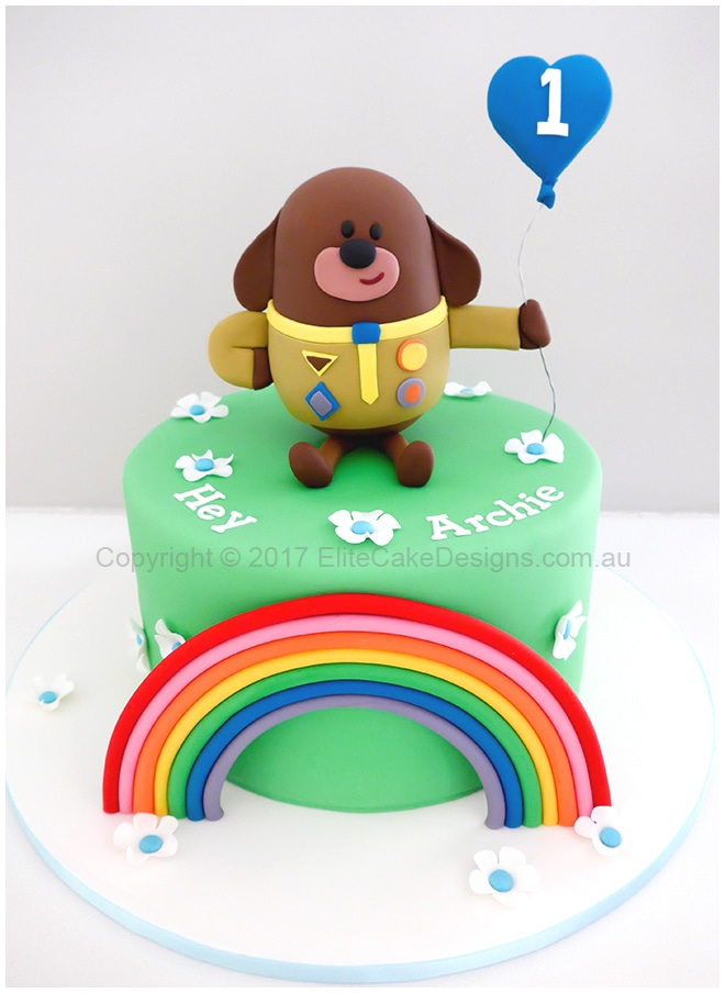 Birthday Cake Coffee Design