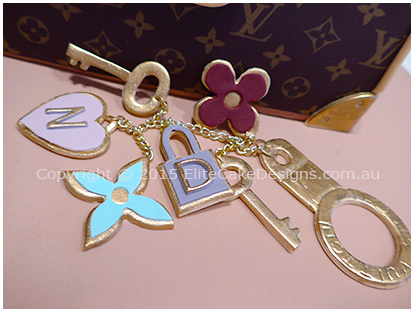 Louis Vuitton hand sugarcrafted charm