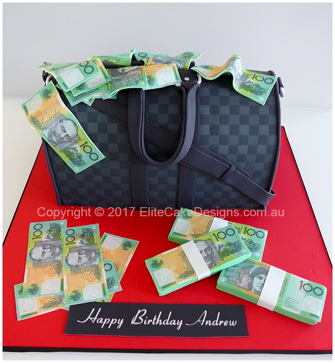 Louis Vuittom Mend Bag Birthday Cake Uniquely Designed By