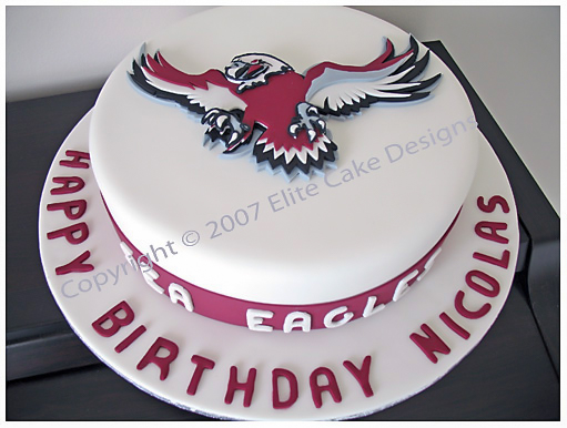 Manly Sea Eagles Birthday Cake Sydney