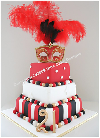 Remarkable Masquerade Madhatter Cakes Fancy Dress Party Cakes By Funny Birthday Cards Online Alyptdamsfinfo