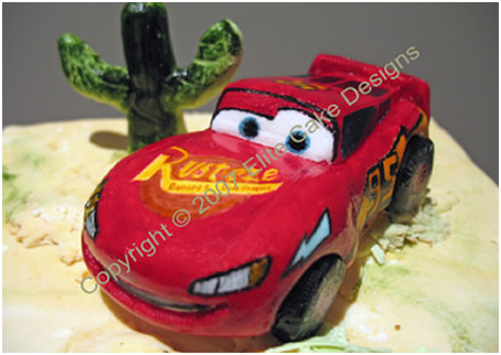 Cars Birthday Cake on Cars Mcqueen Novelty Cake  Novelty Cakes Sydney  Children S Birthday