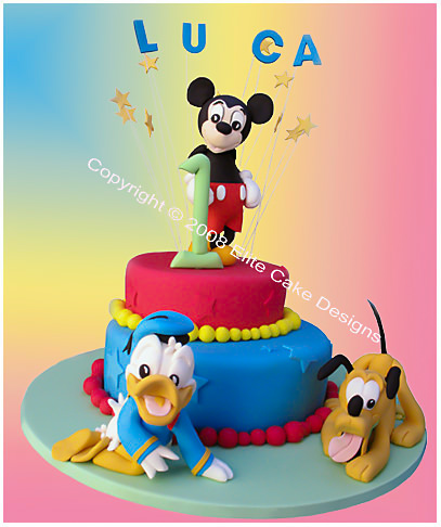 Mickey Birthday Cake For Kids
