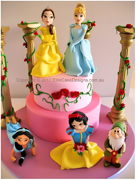 Disney Princess Birthday Cake Princess Birthday Cake Children