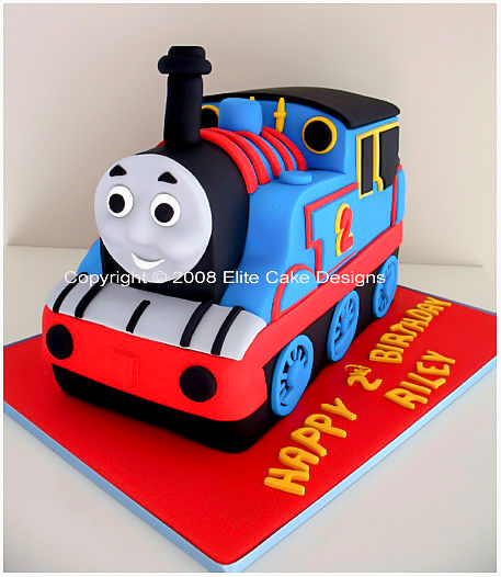 One of the most kids favorite thomas the tank engine birthday cake
