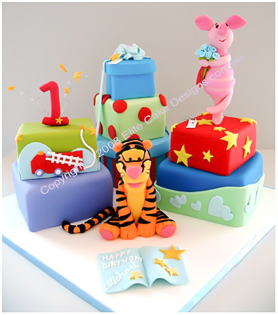 Tigger Birthday Cake Sydney Winnie The Pooh Piglet Eeyore