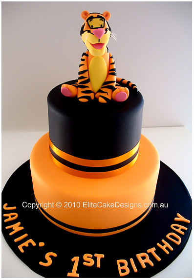 Tigger Birthday Cake Children Cakes Boys