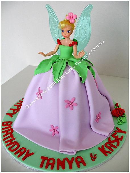 Tinkerbell Fairy Birthday Cake Children Birthday Cakes
