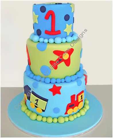 CHILDRENS BIRTHDAY CAKES BY