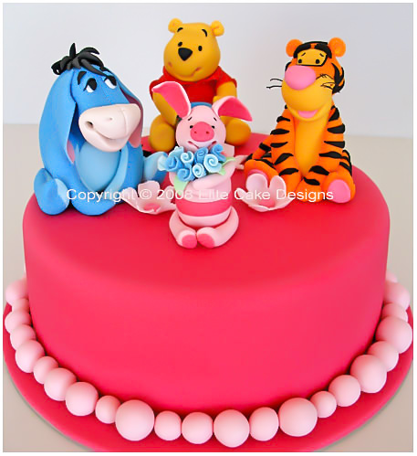 Winnie The Pooh And Friends Birthday Cake Tigger Piglet Eeyore