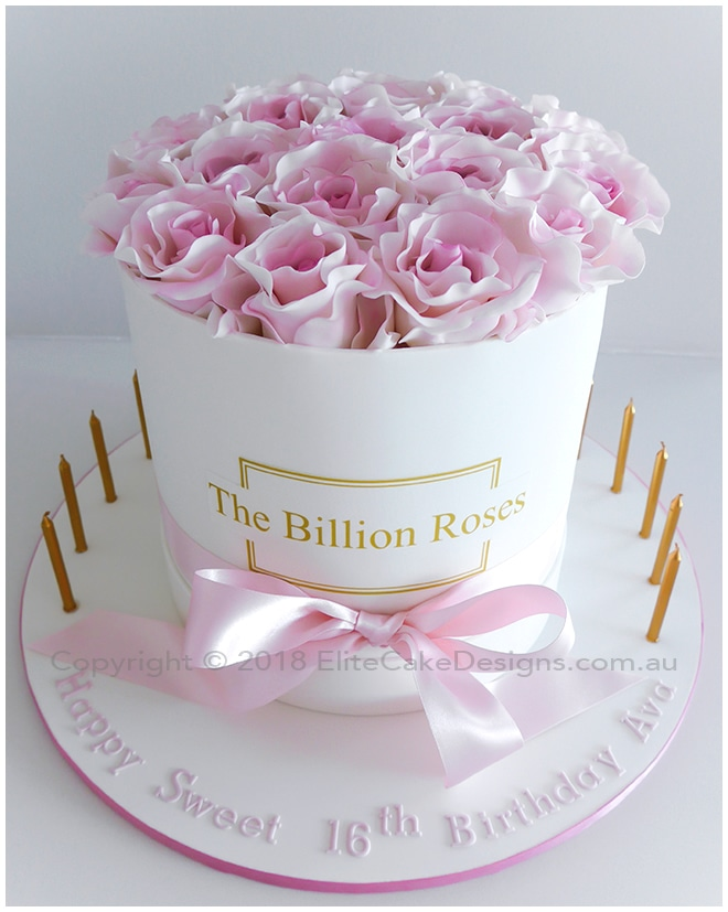 Marvelous The Billion Roses Birthday Cake Uniquely Designed By Funny Birthday Cards Online Alyptdamsfinfo