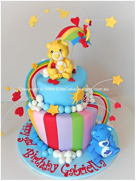 Care Bears Birthday Cake, Toy Story Birthday Cake, Children Birthday ...