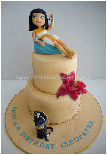 Incredible Cleopatra Birthday Cake In Sydney Ancient Egyptian Cakes Uniquely Funny Birthday Cards Online Necthendildamsfinfo