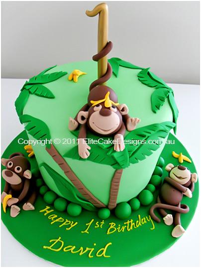 Wild Jungle Birthday Cake 21st Birthday Cakes Sydney