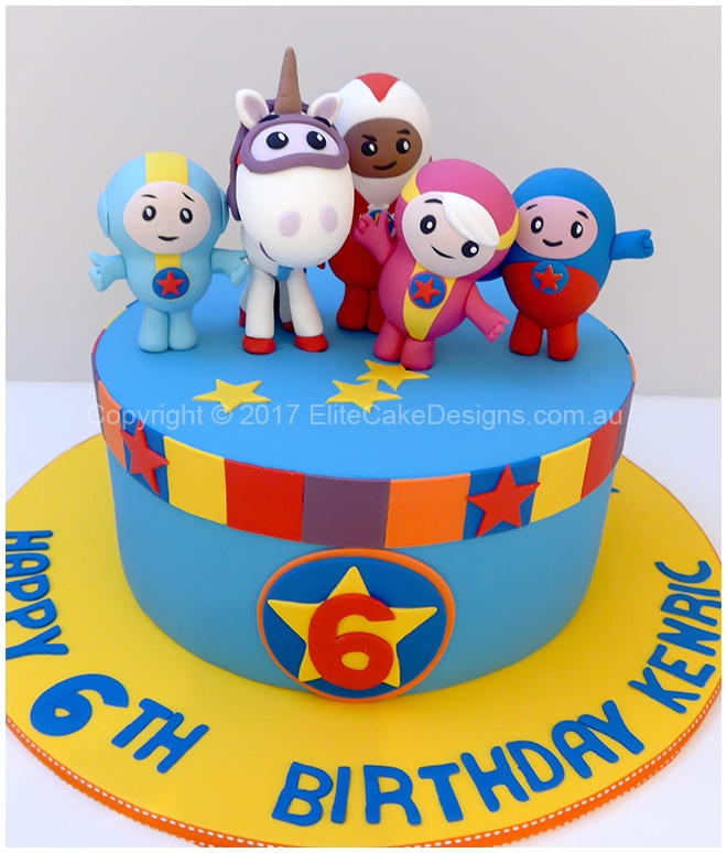 Go Jetters Abc Kids Birthday Cake In Sydney Exclusively Designed By