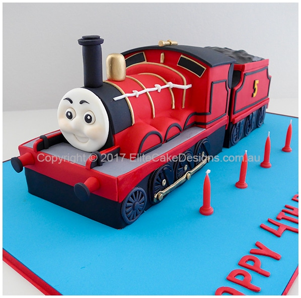 James The Red Engine Birthday Cake