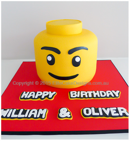 Lego Boys Birthday Cake Kids Birthday Cakes 1st Birthday Cakes