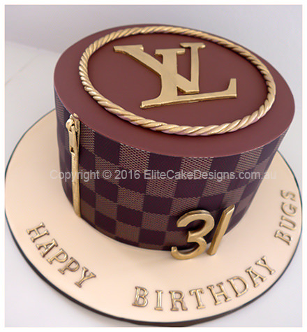 Louis Vuitton Fashion Birthday Cake suitable for a man or woman