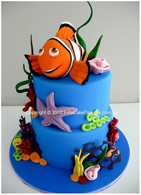 Pleasant Finding Nemo Birthday Cake In Sydney Childrens Birthday Cake Funny Birthday Cards Online Drosicarndamsfinfo