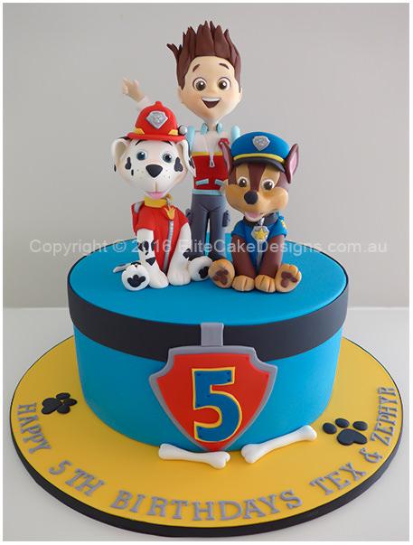 Paw Patrol Birthday Cake In Sydney