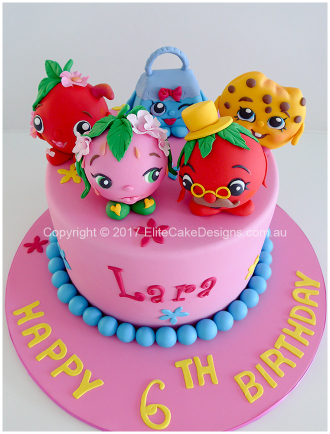 Shopkins Girls Birthday Cake 21 Feb 2017 1006 160k