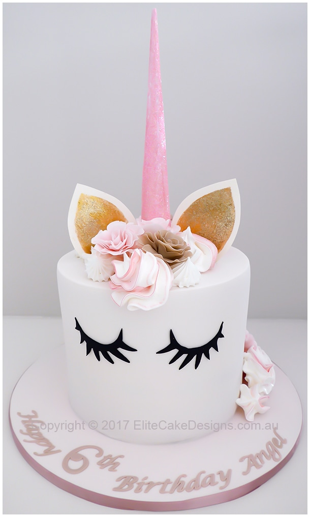 Unicorn girls Birthday Cake in Sydney exclusively designed by