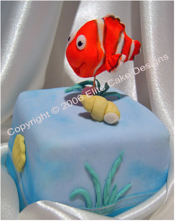 Finding Nemo mini cakes