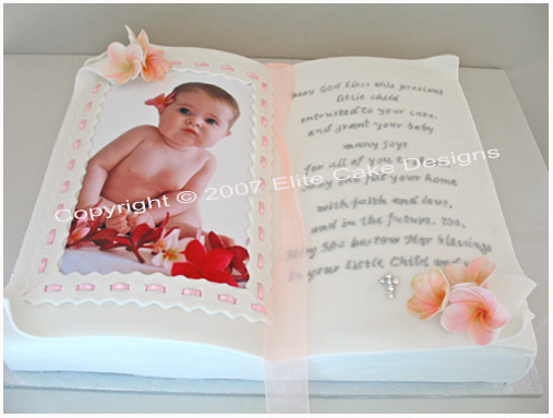 Bible Cake for girl