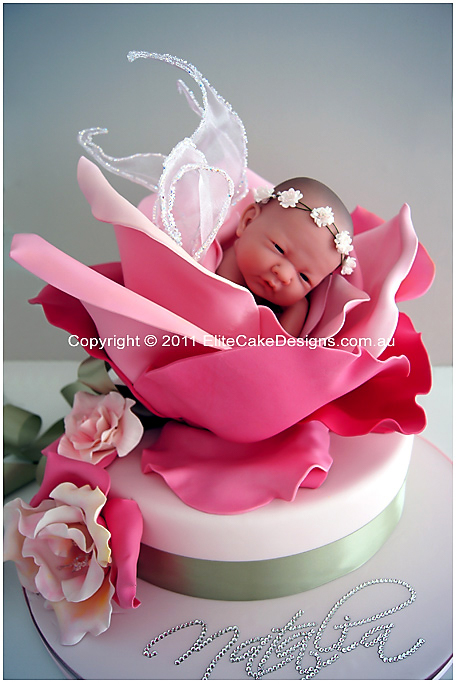 Baby Fairy Rose Christening