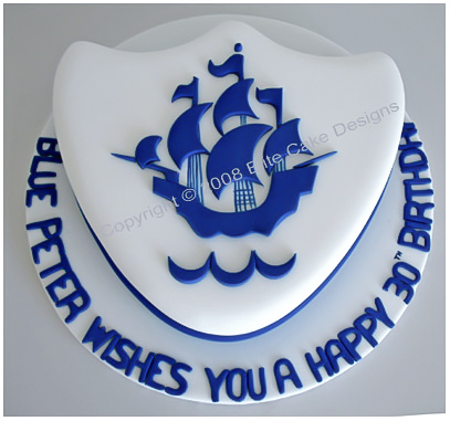 Blue Peter Cake Corporate Cake Designed By