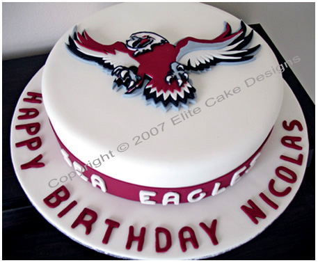 Manly Sea Eagles corporate cake in Sydney